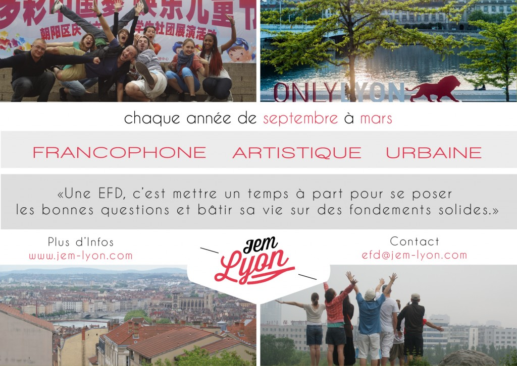 NEW Flyer 2 - FRENCH - BACK